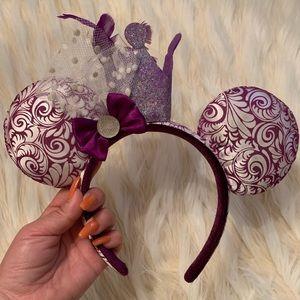 Crown and Feathers Jubilee Purple Disney Ears